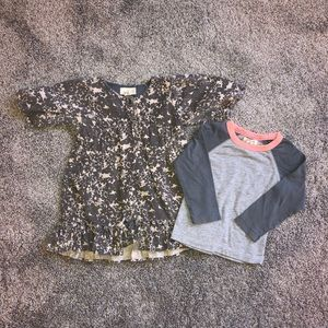 Peek (little peanut) baby dress/long sleeve BUNDLE